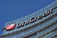 Oficinas de Unicredit en Milán (Italia).