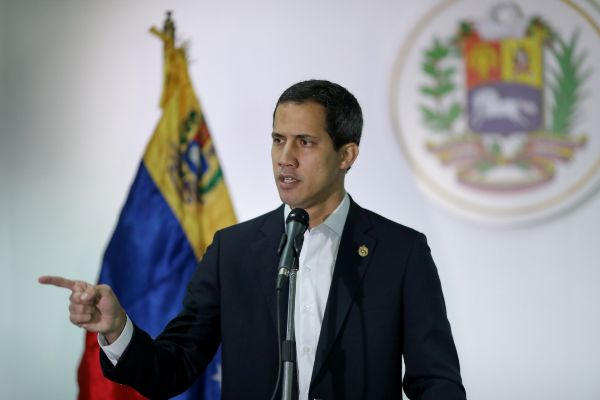 FILE PHOTO: Venezuelan opposition leader <HIT>Juan</HIT>...