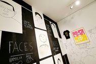 'Faces' es uno de los resultados de las clases hechas para el proyecto 'Daguten' y que ya ha pasado por el Centre del Carme de València.