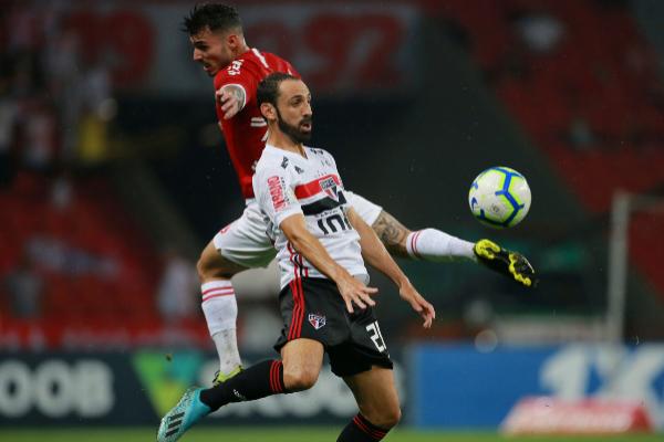 Soccer Football - Brasileiro Championship - Internacional v Sao Paulo...