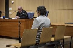 El ex marido de Mónica Oltra, Luis Eduardo Ramírez Icardi, durante el juicio por presunto abuso de menores.