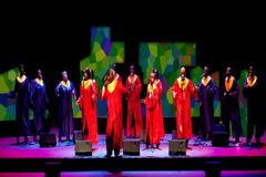 Spirit of New Orleans Gospel Choir, en una actuación.