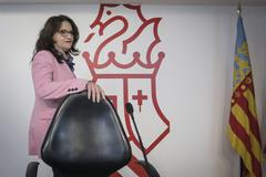 La vicepresidenta del Consell y responsable de la política social, Mónica Oltra.