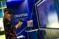 En el expositor se incluyen las tecnologías que emplea Dinapsis.
