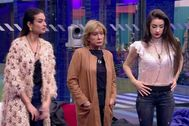 Mila Ximénez fue salvada de la expulsión en GH VIP 2019, mientras que Adara Molinero y Estela Grande siguen nominadas