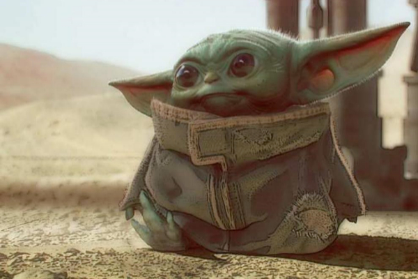 Baby Yoda protagoniza 'The Mandalorian' en Disney+.