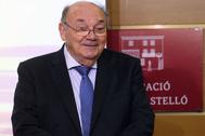 José Quereda, ayer en la charla del Aula Isabel Ferrer.