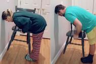Chair Challenge, el último reto viral no es apto para hombres