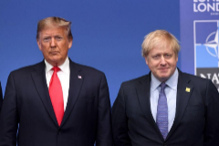 """Boris Johnson: """"Mientras sigamos juntos no habrá guerra"""""""