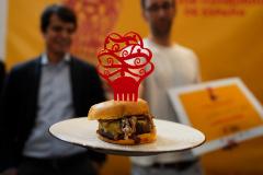 BaconJuancheeseburguer, de Juancho's BBQ, la mejor hamburguesa de España.