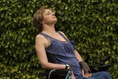 Azucena Hernández, en julio de 2016 en el Centro de Atención a Personas con Discapacidad Física de Guadalajara.