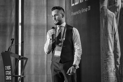 Ilya Sachkov, fundador de Group-IB, en CyberCrimeCon 2019.