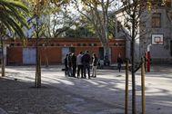 Imagen de archivo de un instituto de Barcelona