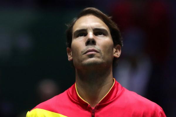 GRAF4500. MADRID.- El tenista Rafa <HIT>Nadal</HIT> escucha el himno...