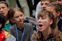 Greta Thunberg revoluciona el 'corazón' de la Cumbre del Clima en Madrid