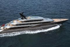 'Atlántico': el proyecto de 77 metros de Marco Ferrari