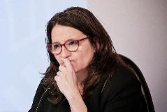 La vicepresidenta y consellera de Igualdad y Políticas, Mónica Oltra.