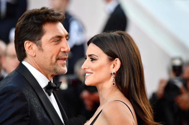 Javier Bardem y Penelope Cruz en el 71ª Festival de Cine de Cannes,...