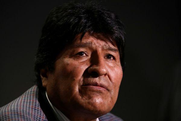 FILE PHOTO: Former Bolivian President <HIT>Evo</HIT>...