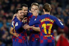 Messi y el taconazo de Luis Suárez, obras de arte en el Camp Nou