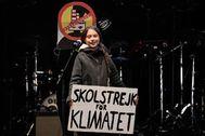 La activista adolescente Greta Thunberg.