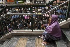 Empleadas del hogar atrapadas en las protestas de Hong Kong