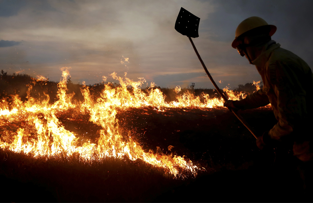 Récord de deforestación del Amazonas en una década