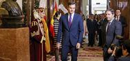Pedro Sánchez, en el Congreso el pasado viernes por los actos conmemorativos del Día de la Constitución.