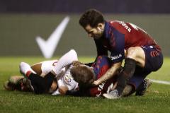 La bravura de Osasuna frena al Sevilla