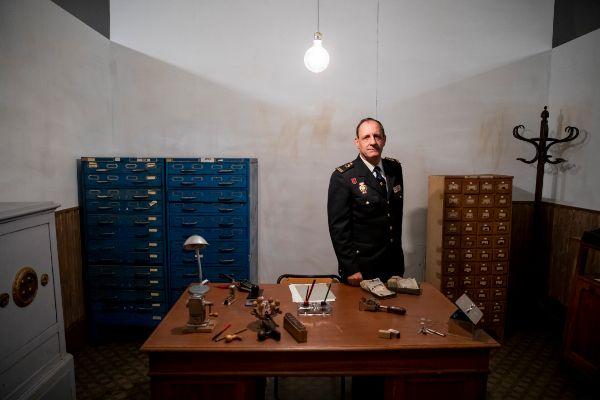 Bernardo Díaz. 04/12/2019. Madrid. Exposición &amp;apos;El <HIT>DNI</HIT> y...