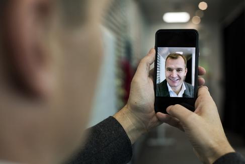 Meinrad <HIT>Spenger</HIT>, CEO de MásMóvil, en la sede de la empresa de telecomunicaciones, en Madrid.