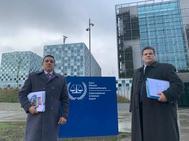 Wilmer Azuaje y Franco Casella, este lunes en La Haya