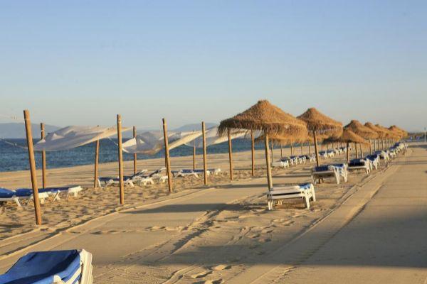 Imagen de una playa de Comporta