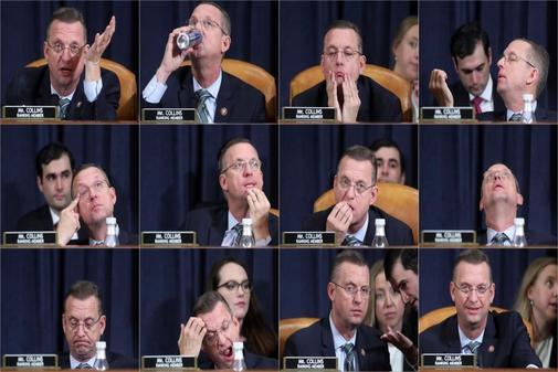 Doug Collins, miembro del Comité Judicial de la Cámara de...