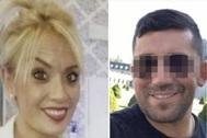 Marta Calvo y su presunto homicida.