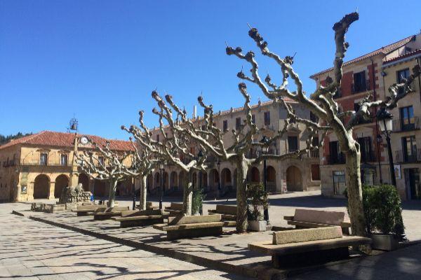 Imagen de archivo de la plaza Mayor de Soria.