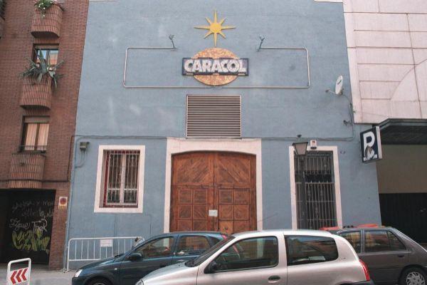 Fachada de la Sala Caracol.