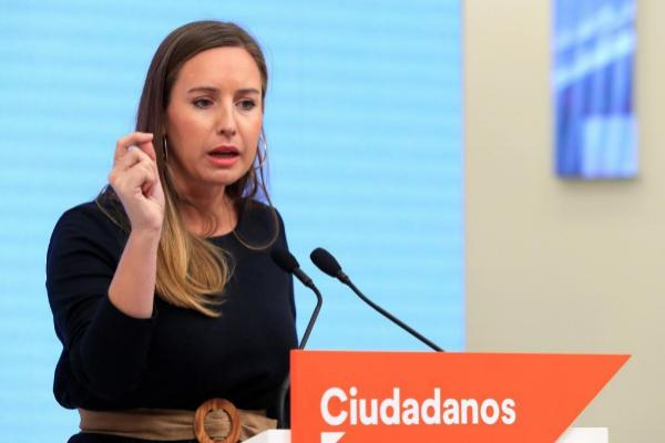 La portavoz de la comisión gestora de Ciudadanos, Melisa Rodríguez,...