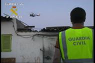 Operación de la Guardia Civil contra el narcotráfico.