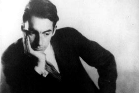 Pablo Neruda de joven.