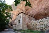 Una imagen del monasterio de San Juan de la Peña.