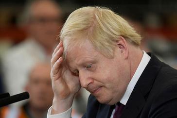 El primer ministro británico y líder del Partido Conservador, Boris Johnson.