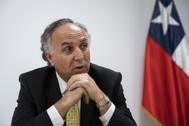 Teodoro Ribera, ministro de Relaciones Exteriores de Chile.