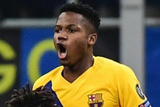 Un histórico Ansu Fati tumba al Inter de Conte