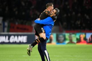 El Valencia quemó la falla del Ajax