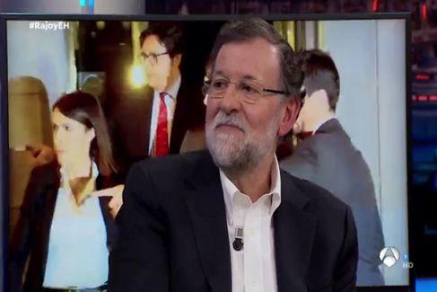 La exclusiva que sólo Pablo Motos podía sacar a Mariano Rajoy