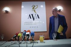 El presidente de AVA-Asaja, Cristóbal Aguado.