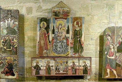 Piezas de arte sacro custodiadas en Lerida, reclamadas por el Gobierno...