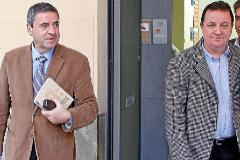 Pere Rotger y Rafael Torres en una imagen de archivo del año 2013. JORDI AVELLÀ