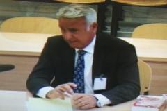 Jorge Pérez, ex jefe de Regulación Contable del Banco de España, el pasado 6 de mayo durante su testimonio en la Audiencia Nacional por el 'caso Bankia'